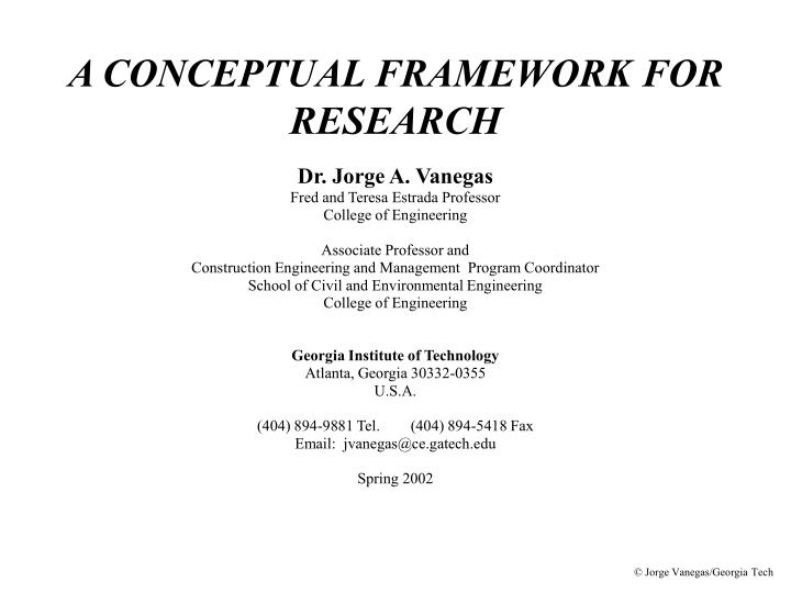 conceptual framework in qualitative dissertation This dissertation is dedicated to my mother  formative research on a design theory to a conceptual framework.