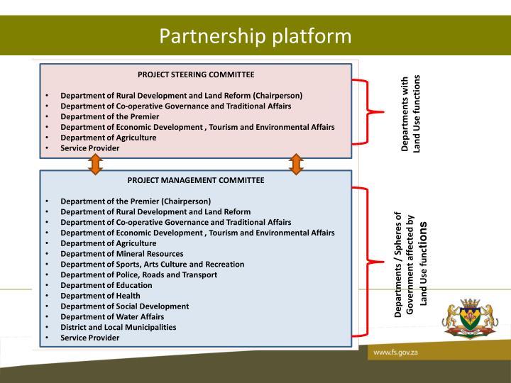 Partnership platform