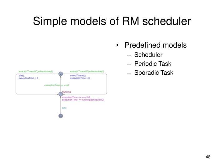 Predefined models
