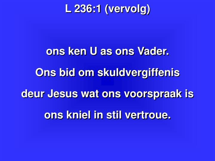 L 236:1 (vervolg)