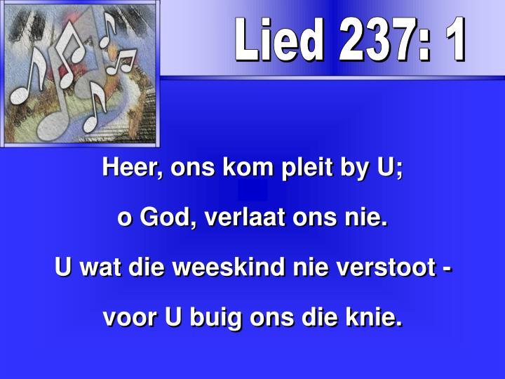 Lied 237: 1