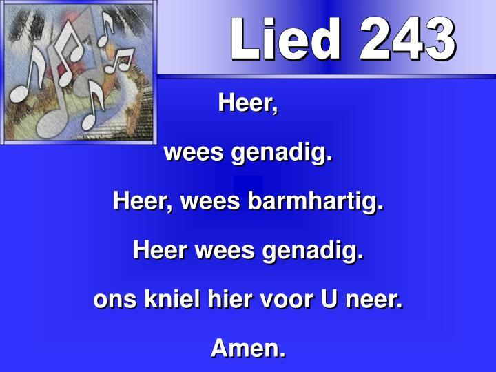 Lied 243