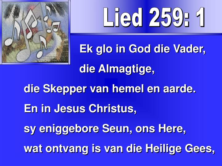 Lied 259: 1
