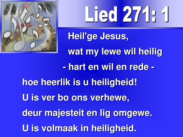 Lied 271: 1