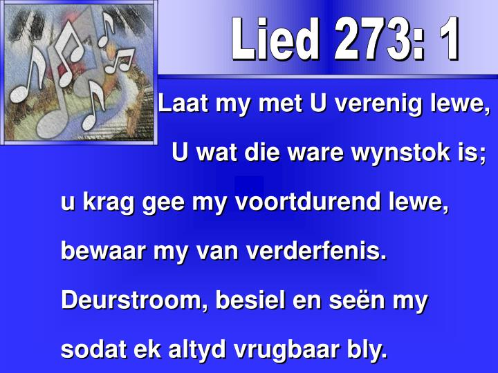 Lied 273: 1