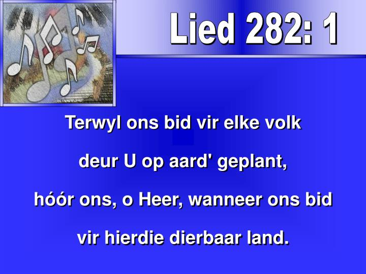 Lied 282: 1