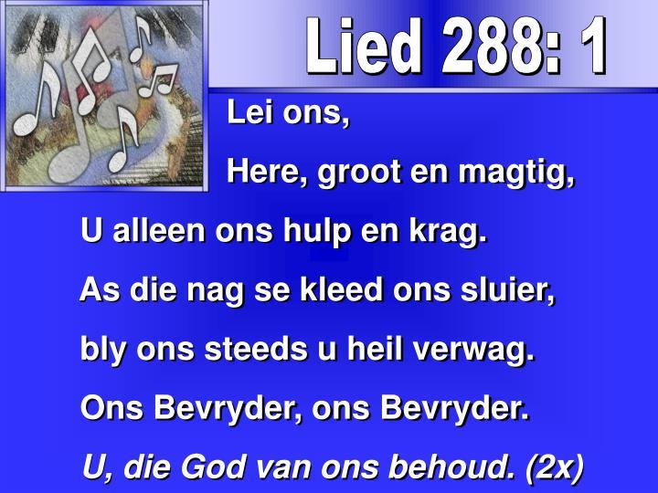 Lied 288: 1
