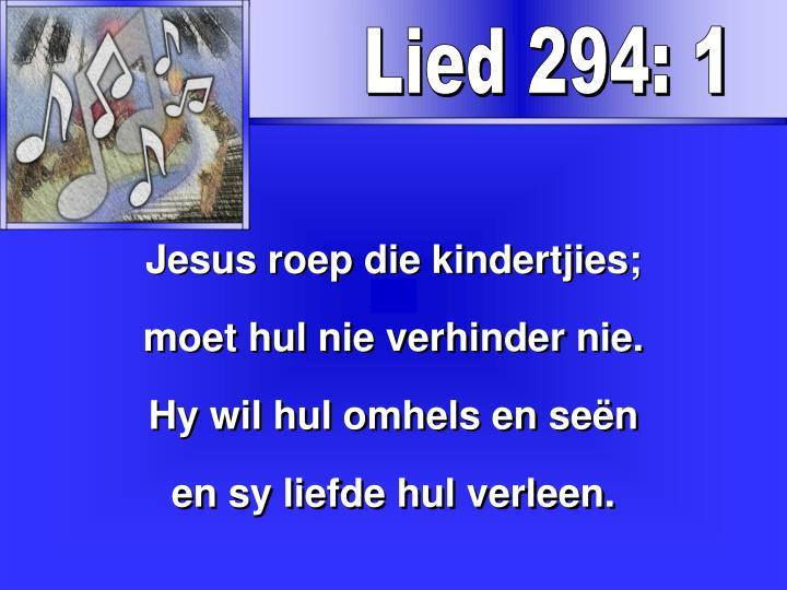 Lied 294: 1