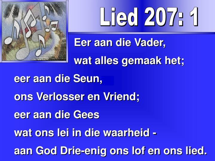 Lied 207: 1