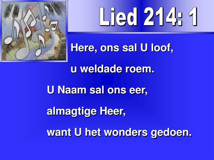Lied 214: 1