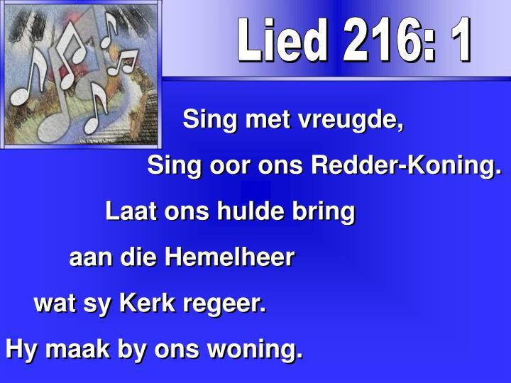 Lied 216: 1