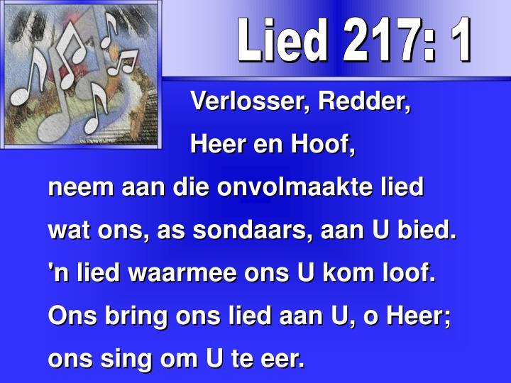 Lied 217: 1