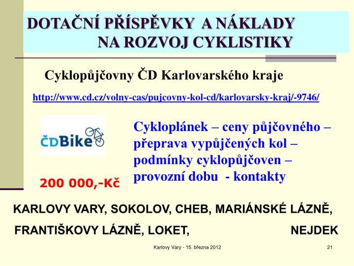 Cyklopůjčovny