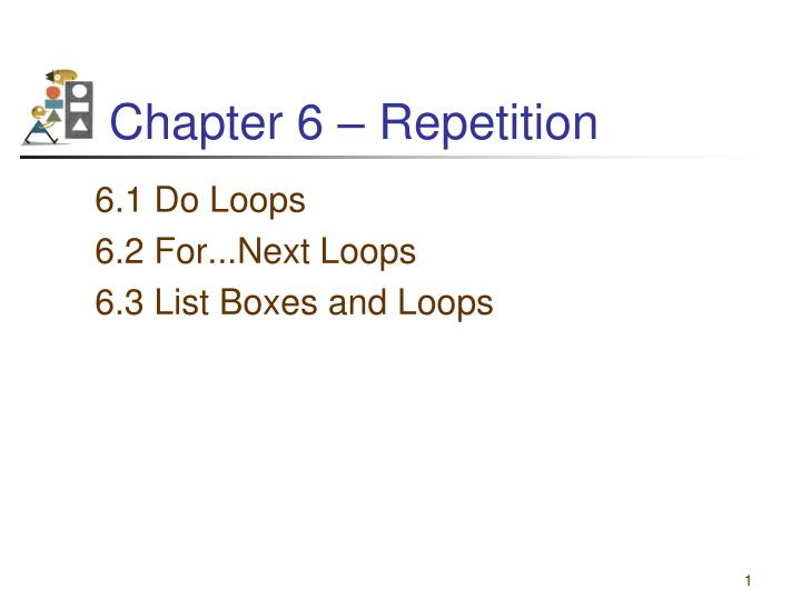 chapter 6 repetition