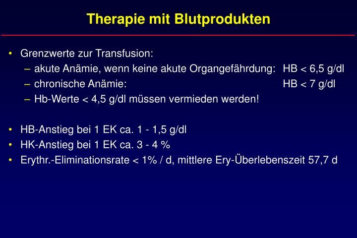 Therapie mit blutprodukten2