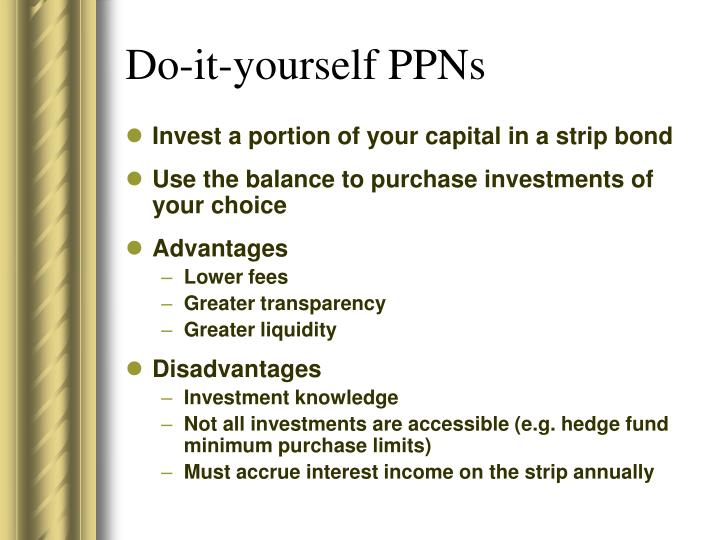 Do-it-yourself PPNs