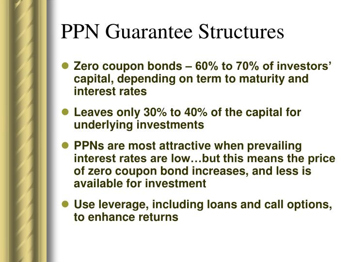 PPN Guarantee Structures