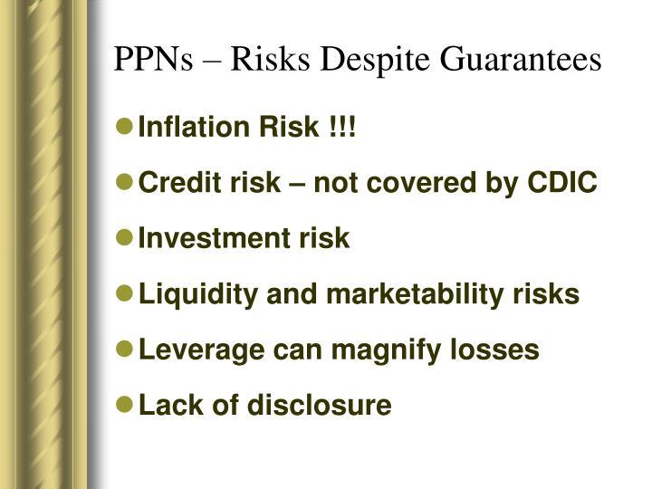 PPNs – Risks Despite Guarantees