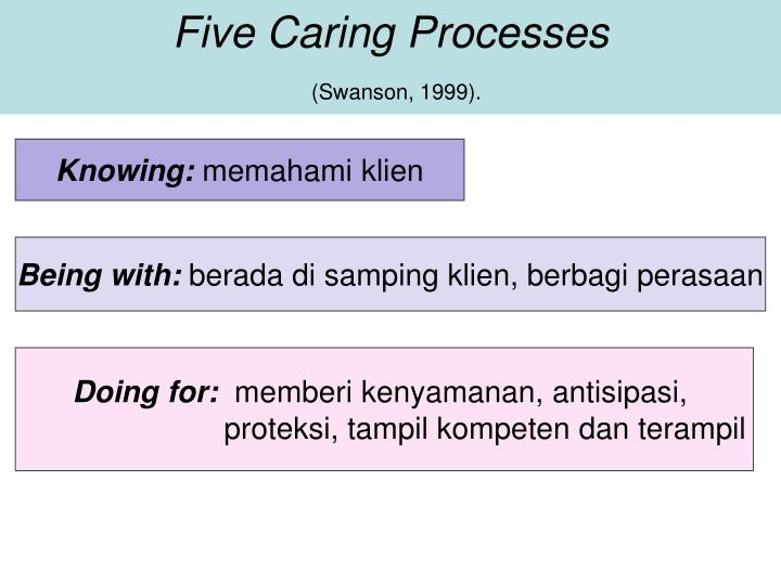 Five Caring Processes