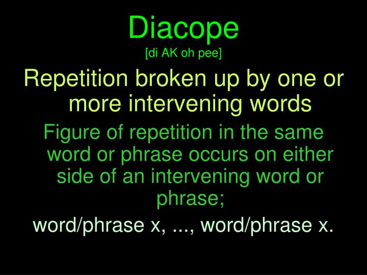Diacope