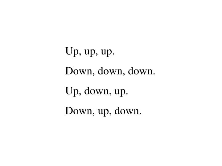 Up, up, up.