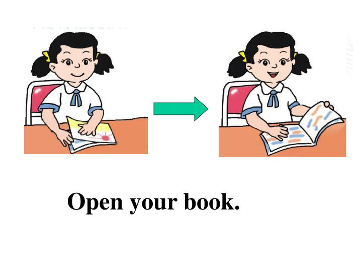 Open your book.