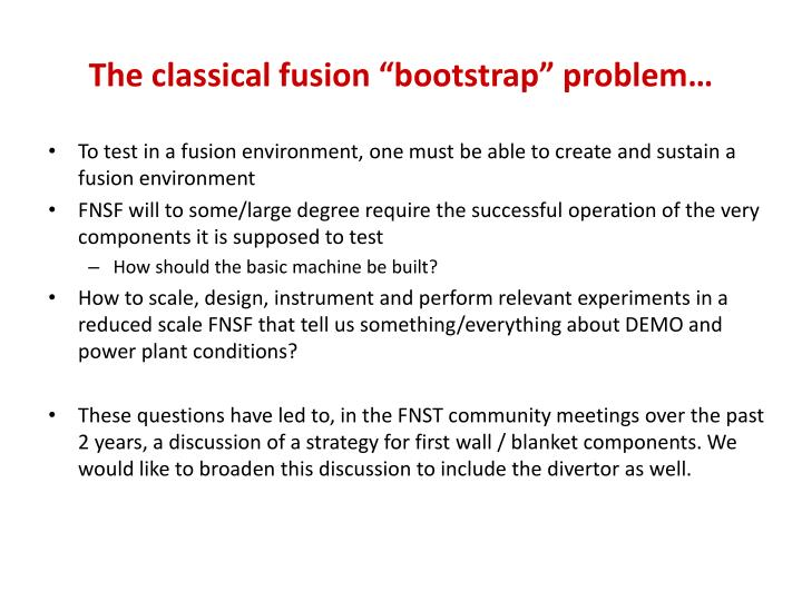 "The classical fusion ""bootstrap"" problem…"