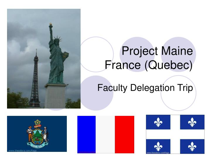 project maine france quebec