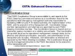 csta enhanced governance