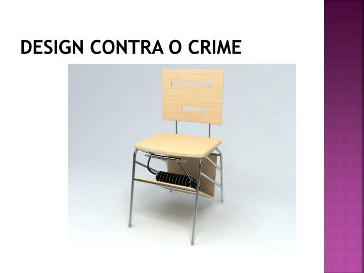 Design contra o crime