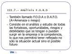 iii 7 an lisis f o r d