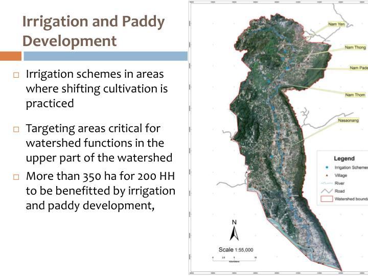 Irrigation and Paddy Development