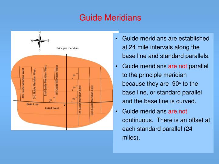 Guide Meridians