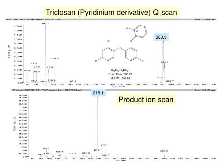 Triclosan (Pyridinium derivative) Q