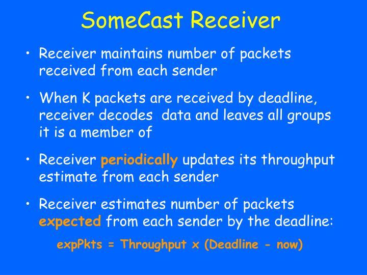 SomeCast Receiver