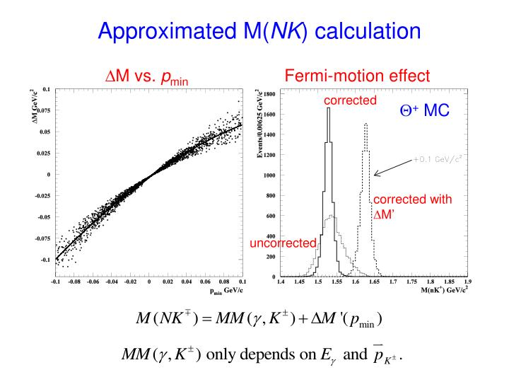Approximated M(