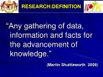 research definition1