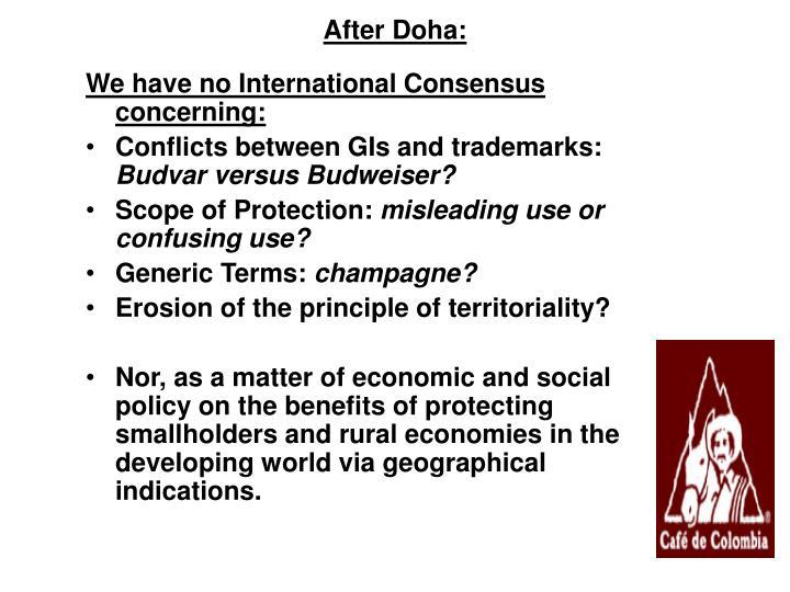 After Doha: