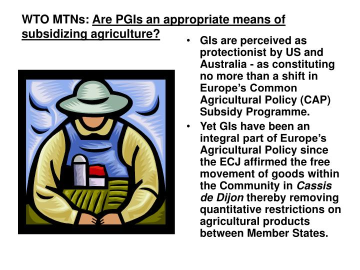 WTO MTNs: