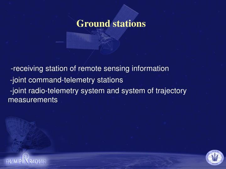 Ground stations