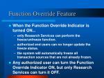 function override feature1