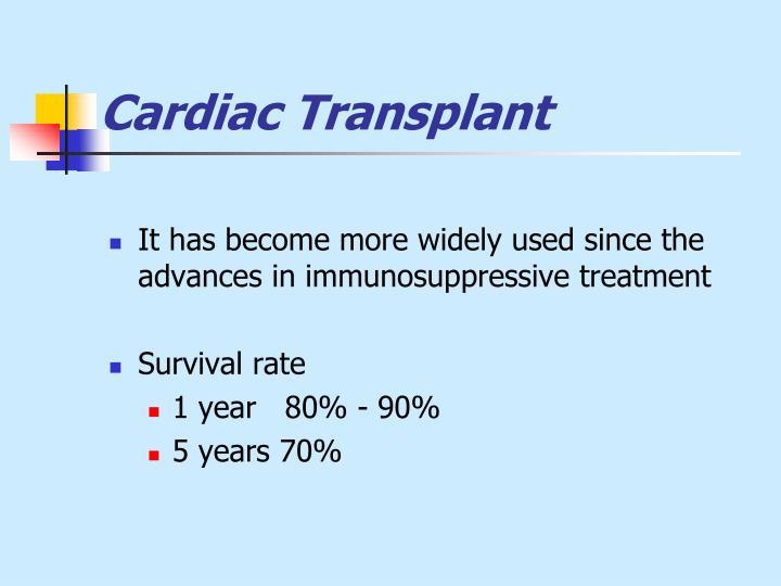 Cardiac Transplant