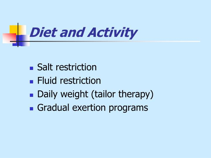Diet and Activity