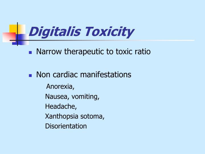 Digitalis Toxicity