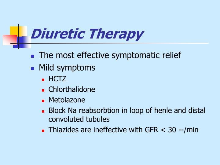 Diuretic Therapy