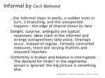 informal by cecil balmond