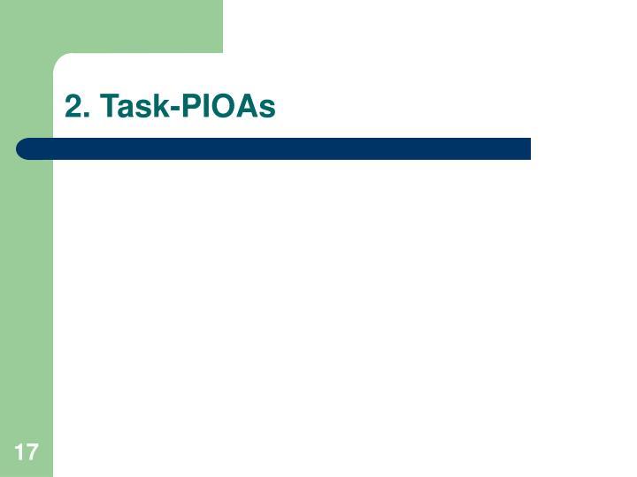 2. Task-PIOAs