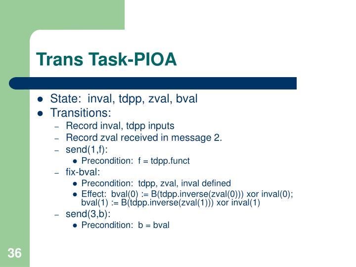 Trans Task-PIOA