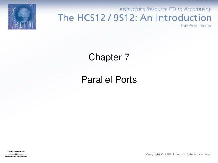 chapter 7 parallel ports n.