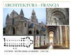 architektura francja